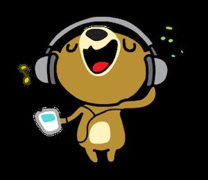 Miya the Bear messages sticker-1
