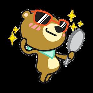 Miya the Bear messages sticker-8