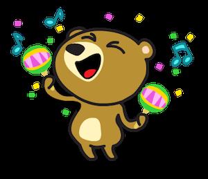 Miya the Bear messages sticker-4