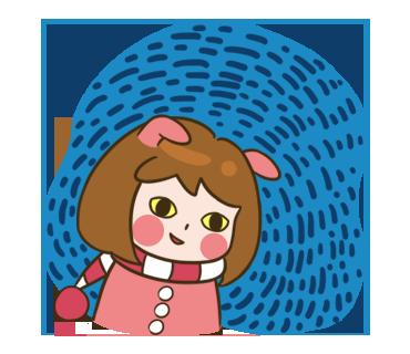 Momo series 1 messages sticker-0