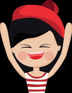 Little red hat - Fx Sticker messages sticker-6
