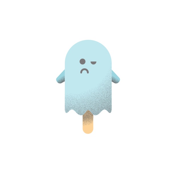 Popsicle ghost messages sticker-6