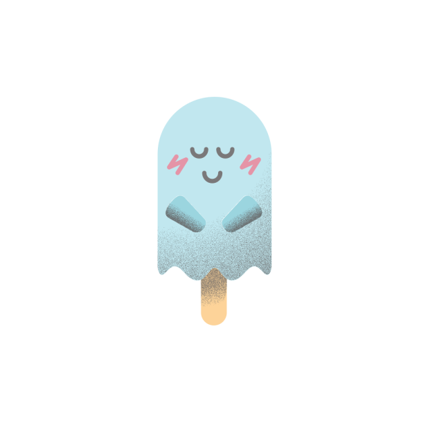 Popsicle ghost messages sticker-5