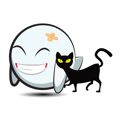 Cute Halloween Ghost - Sticker Pack for iMessage messages sticker-8