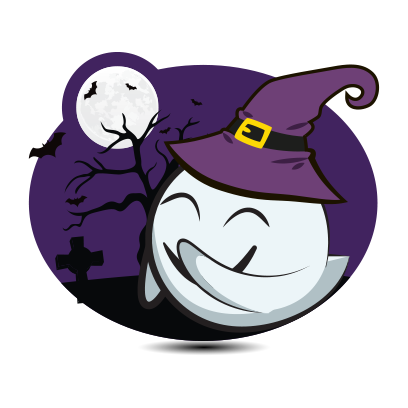 Cute Halloween Ghost - Sticker Pack for iMessage messages sticker-0