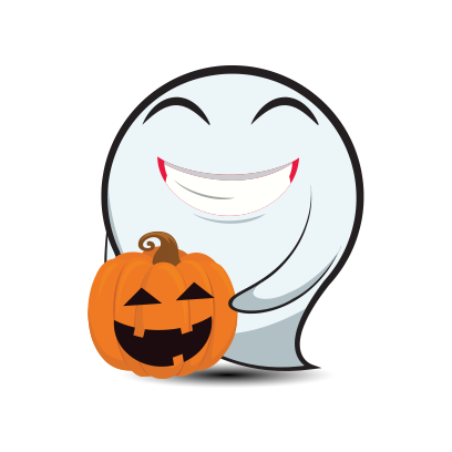 Cute Halloween Ghost - Sticker Pack for iMessage messages sticker-4