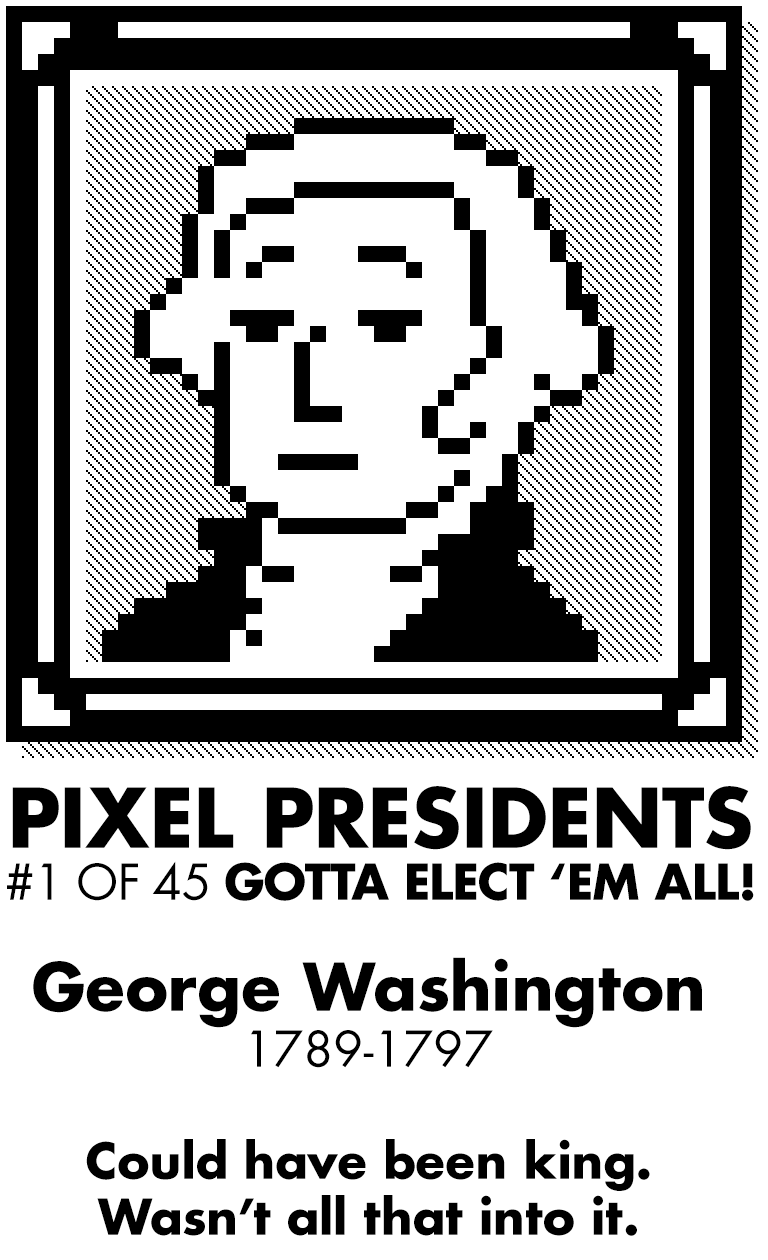 Pixel Presidents messages sticker-2