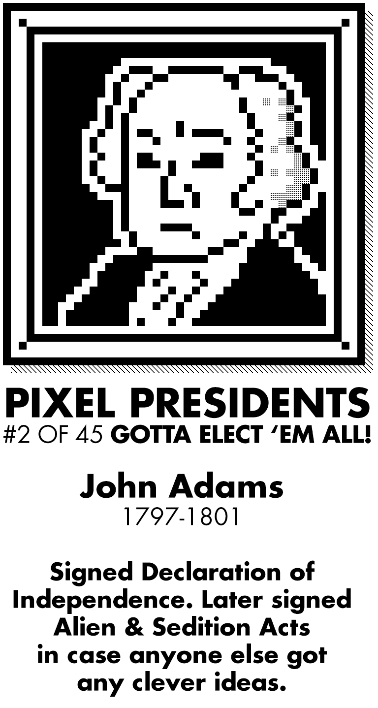Pixel Presidents messages sticker-4