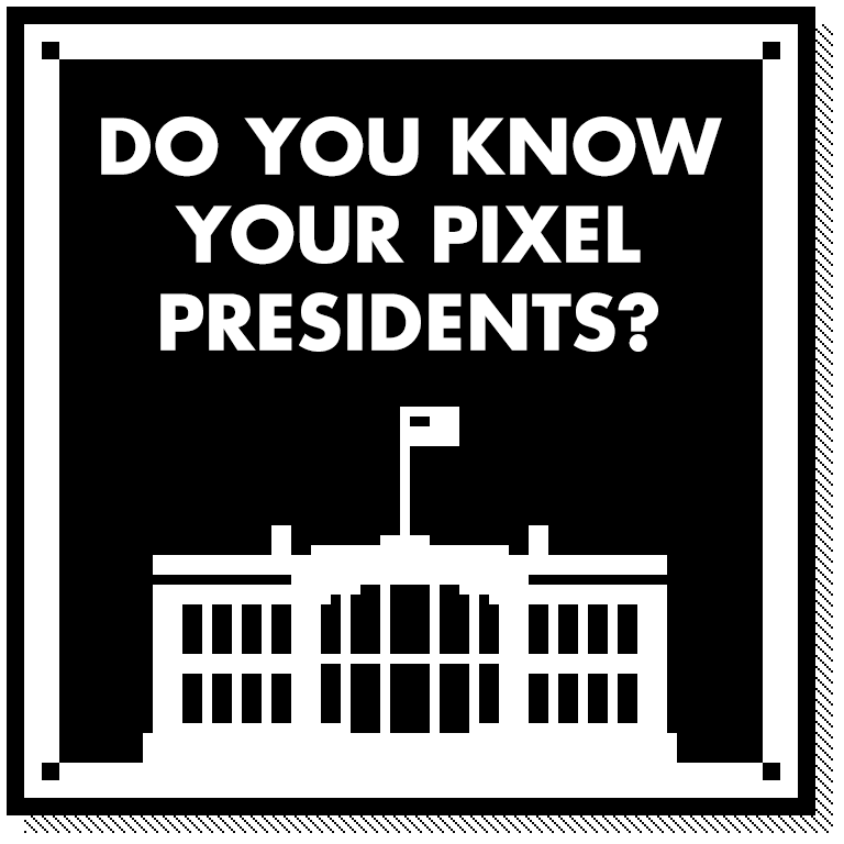 Pixel Presidents messages sticker-0