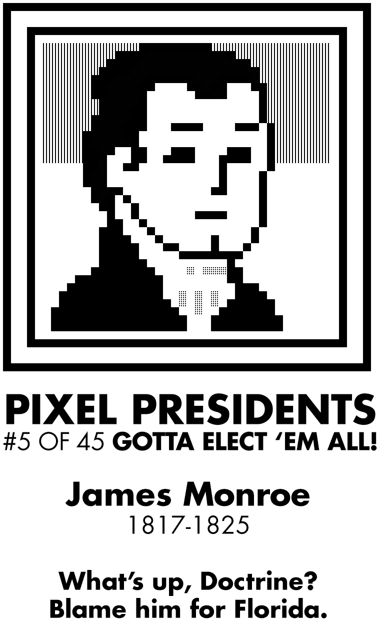Pixel Presidents messages sticker-10