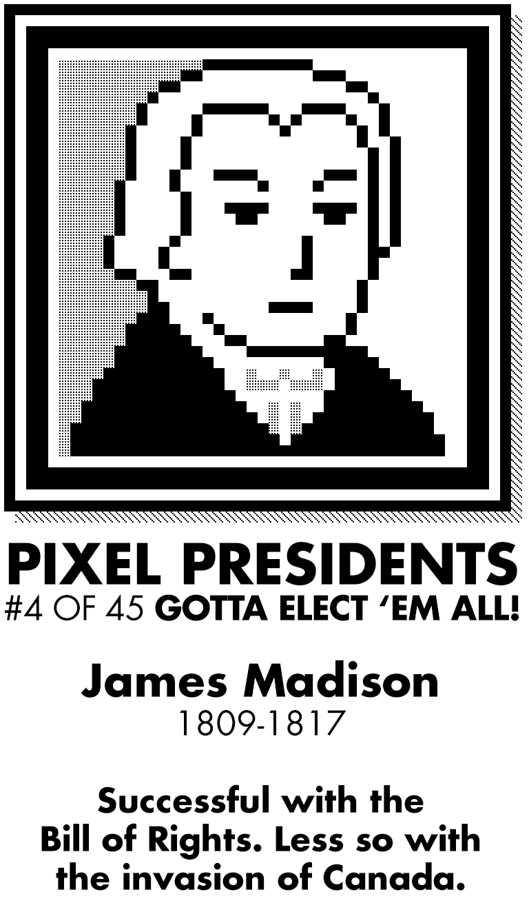 Pixel Presidents messages sticker-8