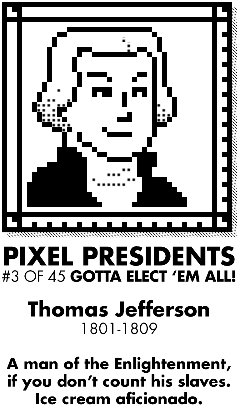 Pixel Presidents messages sticker-6