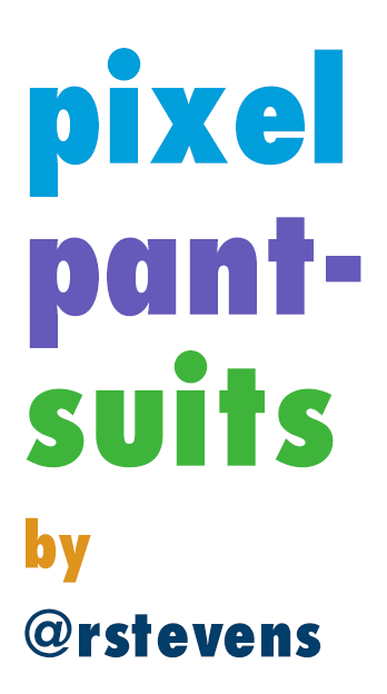 Pixel Pantsuits messages sticker-10