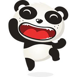 Naive Panda Sticker messages sticker-2