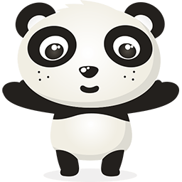 Naive Panda Sticker messages sticker-9