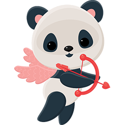 Naive Panda Sticker messages sticker-0