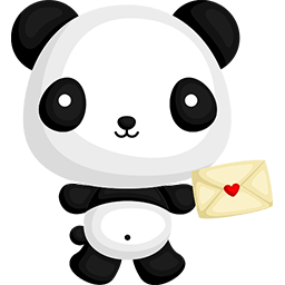 Naive Panda Sticker messages sticker-4
