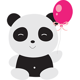 Naive Panda Sticker messages sticker-5