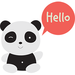 Naive Panda Sticker messages sticker-7