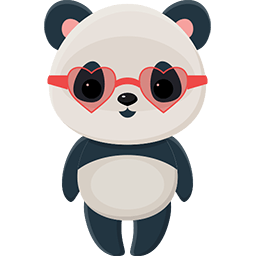 Naive Panda Sticker messages sticker-10