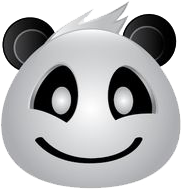 Panda Face Emoji - Sticker messages sticker-0