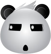 Panda Face Emoji - Sticker messages sticker-9