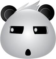 Panda Face Emoji - Sticker messages sticker-9