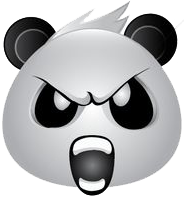 Panda Face Emoji - Sticker messages sticker-7