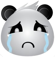 Panda Face Emoji - Sticker messages sticker-5