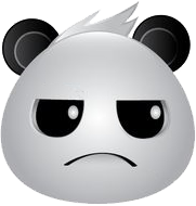 Panda Face Emoji - Sticker messages sticker-3