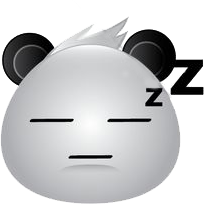 Panda Face Emoji - Sticker messages sticker-10