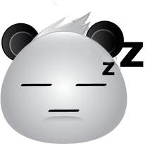 Panda Face Emoji - Sticker messages sticker-10