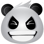 Panda Face Emoji - Sticker messages sticker-4