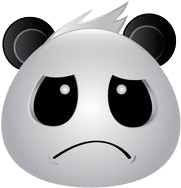 Panda Face Emoji - Sticker messages sticker-6