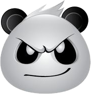 Panda Face Emoji - Sticker messages sticker-1