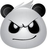 Panda Face Emoji - Sticker messages sticker-1