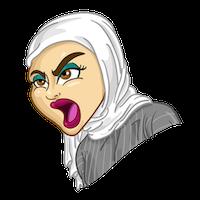 Arabemoji messages sticker-7