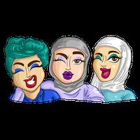 Arabemoji messages sticker-4