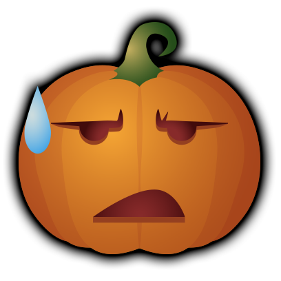 Pumpkin - Halloween stickers messages sticker-5