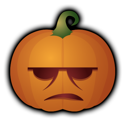 Pumpkin - Halloween stickers messages sticker-11