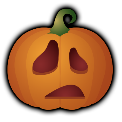 Pumpkin - Halloween stickers messages sticker-3