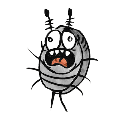 Sammy the Pillbug Stickers messages sticker-11