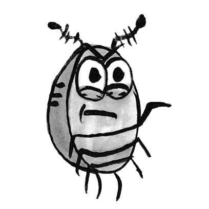 Sammy the Pillbug Stickers messages sticker-8
