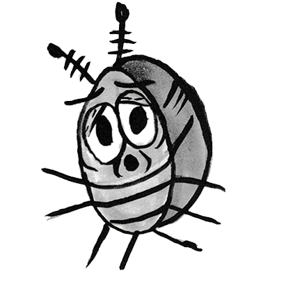 Sammy the Pillbug Stickers messages sticker-10