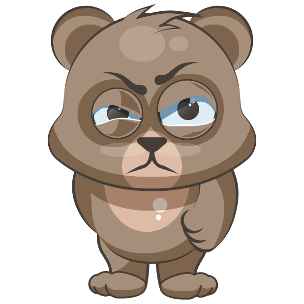 Cuddlebug Teddy Bear Emoji  -Stickers messages sticker-0