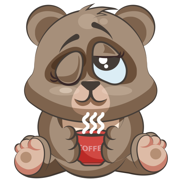 Cuddlebug Teddy Bear Emoji  -Stickers messages sticker-10