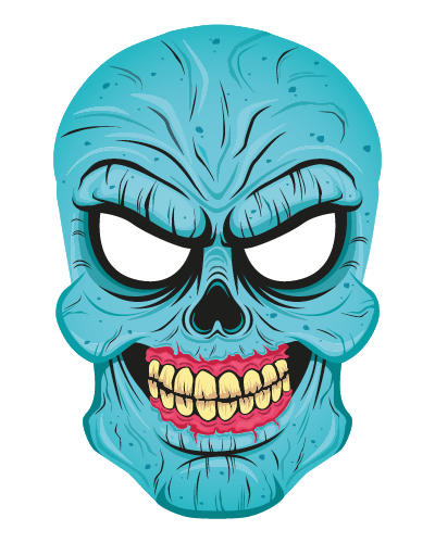 Spooky Masks - Halloween Stickers For Your Photos! messages sticker-4