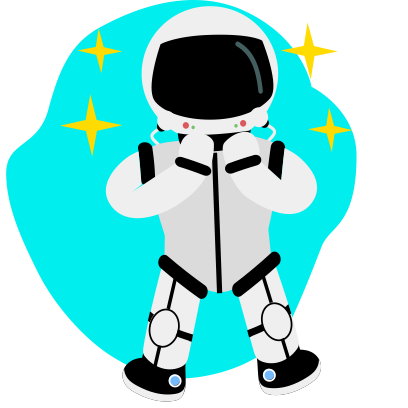 Space stickers by Cosmolander messages sticker-7