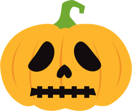 Pumpkin Halloween Emoji Sticker #1 messages sticker-6