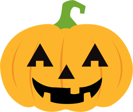 Pumpkin Halloween Emoji Sticker #1 messages sticker-5